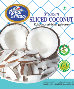 SLICED COCONUT