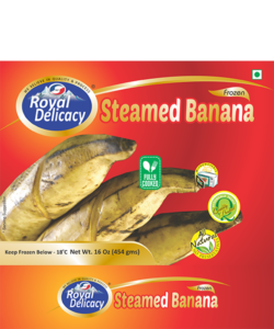 STEAMED BANANA